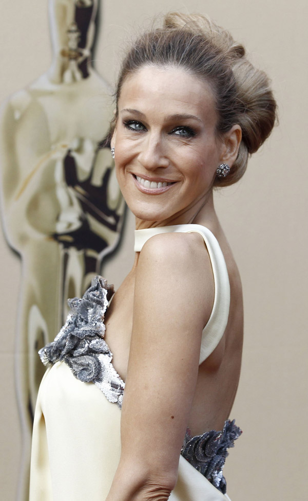 Sarah Jessica Parker Chanel dress 2010 Oscars 1