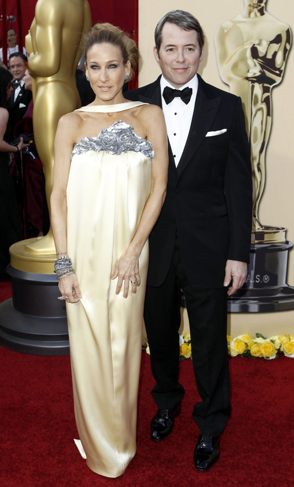 Sarah Jessica Parker Chanel dress 2010 Oscars 2