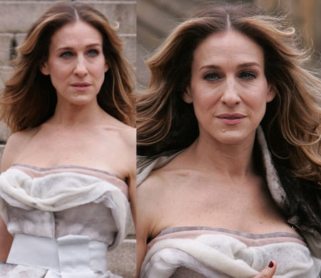 Sarah Jessica Parker US Vogue June 2008 By Annie Leibovitz