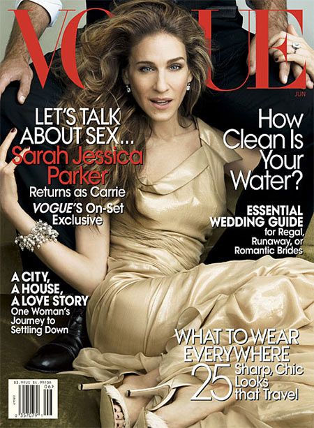 Sarah Jessica Parker Vogue US June 2008 by Annie Leibovitz