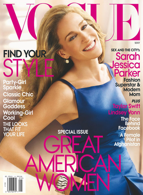 Sarah Jessica Parker Vogue US May 2010 cover