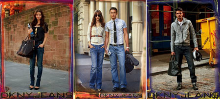 Sartorialist DKNY Jeans Spring Summer 2009 ad campaign