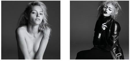 Sasha Pivovarova Before and After