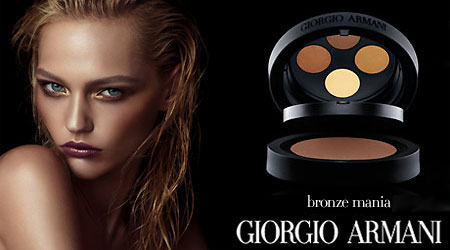 Sasha Pivovarova For GIorgio Armani Bronze Mania Ochra Collection 2008