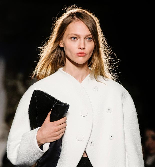 Sasha Pivovarova is back walked NY Fashion Week