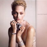 Sasha Pivovarova Tiffany Co Ads