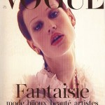 Saskia de Brauw Vogue Paris March 2011 cover