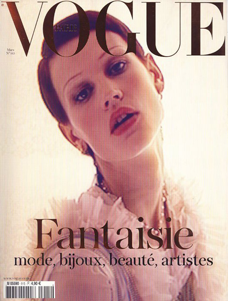 Saskia De Brauw Vogue Paris March 2011, Carine Roitfeld's Last Issue