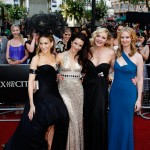 SATC cast Red Carpet premiere London