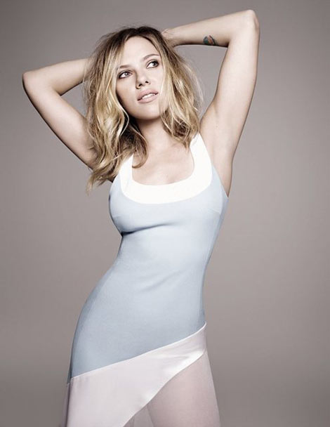 Scarlett Johansson's Awkward Elle UK February 2013
