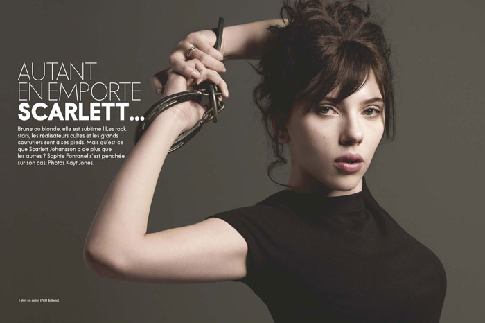 Scarlett Johansson Elle France June 2009 1