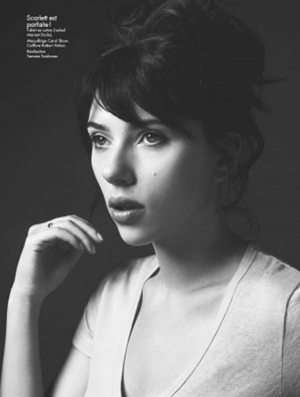 Scarlett Johansson Elle France June 2009 3