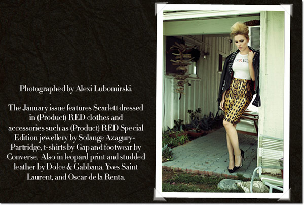Scarlett Johansson Harpers Bazaar UK January 2010 2
