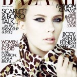 Scarlett Johansson Harpers Bazaar UK January 2010 cover