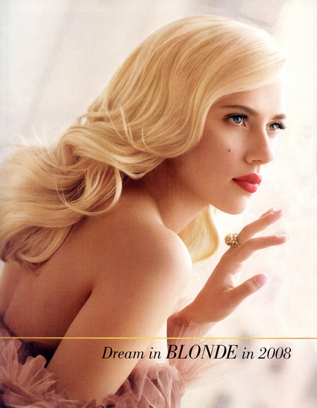 Scarlett Johansson L'Oreal Dream in Blonde 2008
