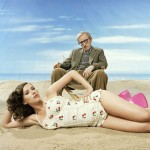 Scarlett Johansson Woody Allen day at the beach