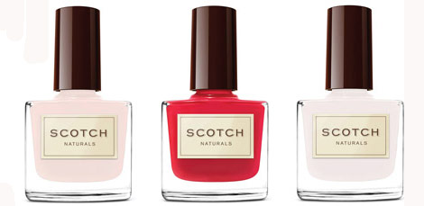 Scotch Naturals Nail Polish, Perfect Gift For The Natural Women