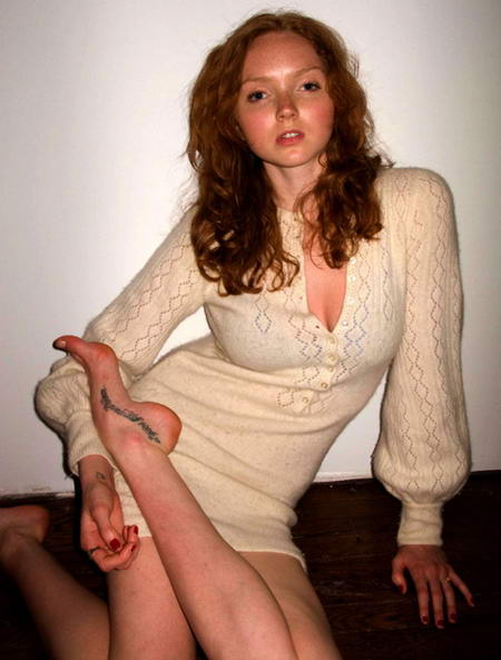 Scott Campbell Tattoos Lily Cole Right Foot tattoo
