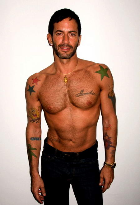 Marc Jacobs Tattoos