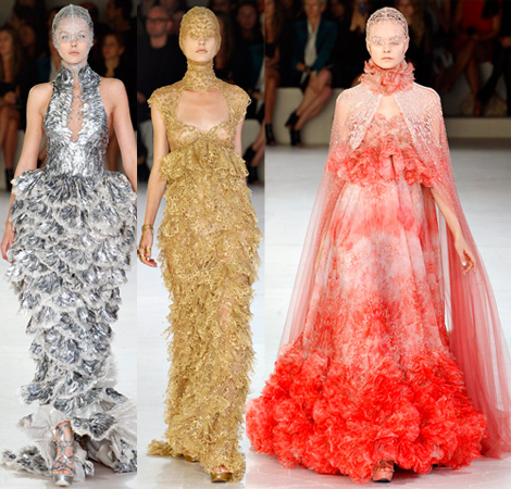 sea inspired collection Spring Summer 2012 McQueen
