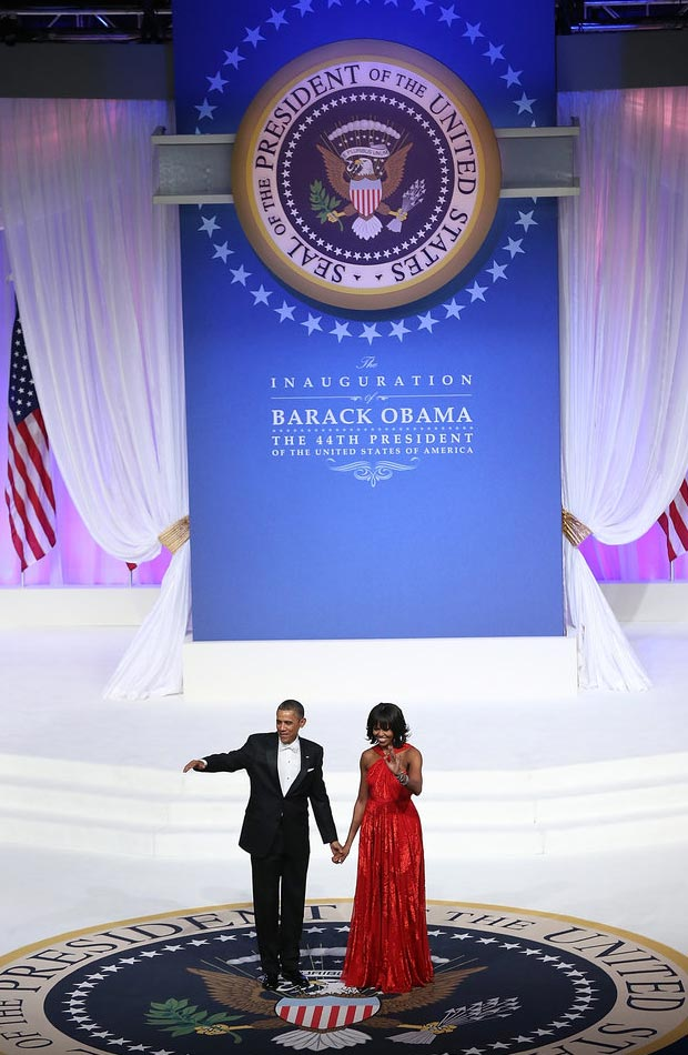 Second Inauguration Ball The President and The First Lady