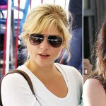 Selma Blair blonde hair vs dark hair