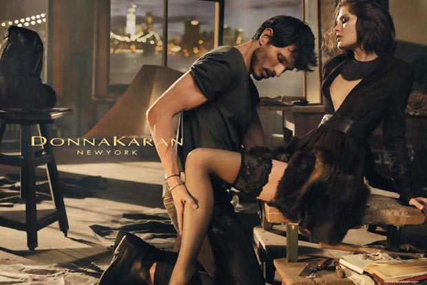 sensual fashion Donna Karan Fall 2013 campaign