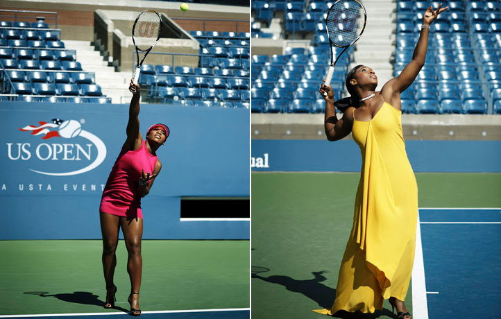 Serena and Venus Williams Tennis Fashion Match 2