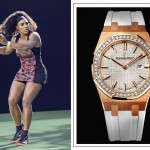 Serena Williams watch Audermars Piguet white strap