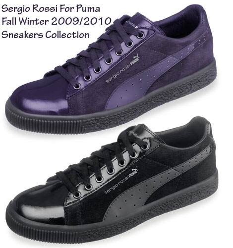 Sergio Rossi For Puma Fall Winter 2009 Sneakers Collection