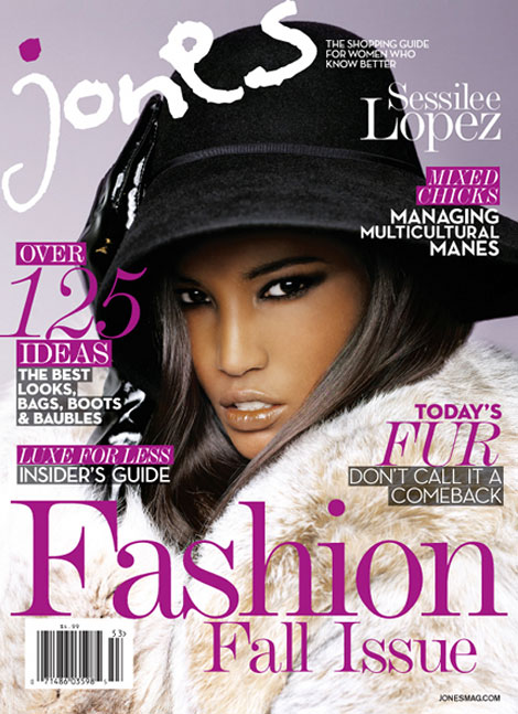 Sessilee Lopez, Anais Mali Cover Jones Fall Fashion Issue