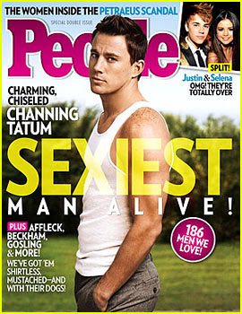 Who's The Sexiest Man Alive? Channing Tatum!