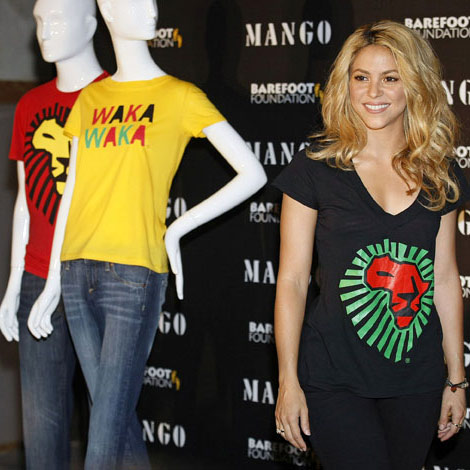 Shakira Mango Waka Waka Collection