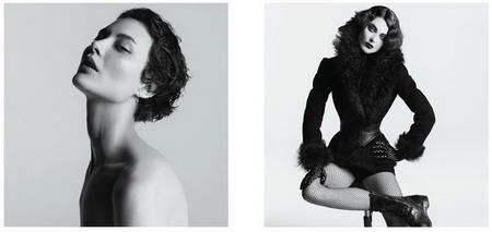 Shalom Harlow Before and After