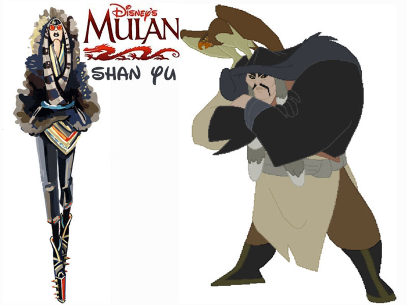 Shan Yu fashion update Disney Villains Mulan