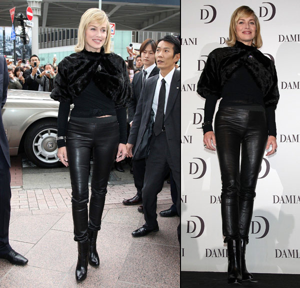 Skinny Leather Pants, The Sexiest Of Them All!