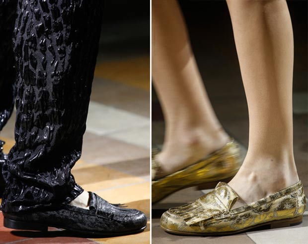 shiny flats for Spring Lanvin SS14