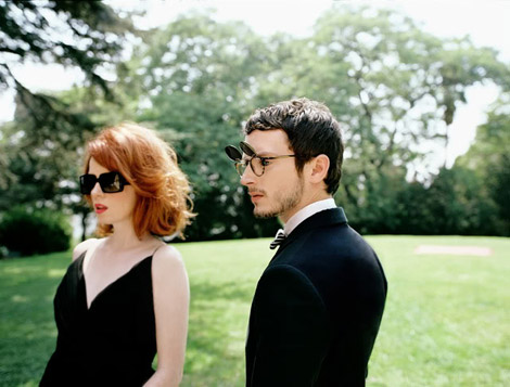 Shirley Manson Elijah Wood Oliver Peoples 2010