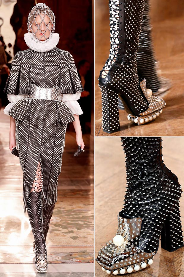 shoes fall 2013 Alexander McQueen
