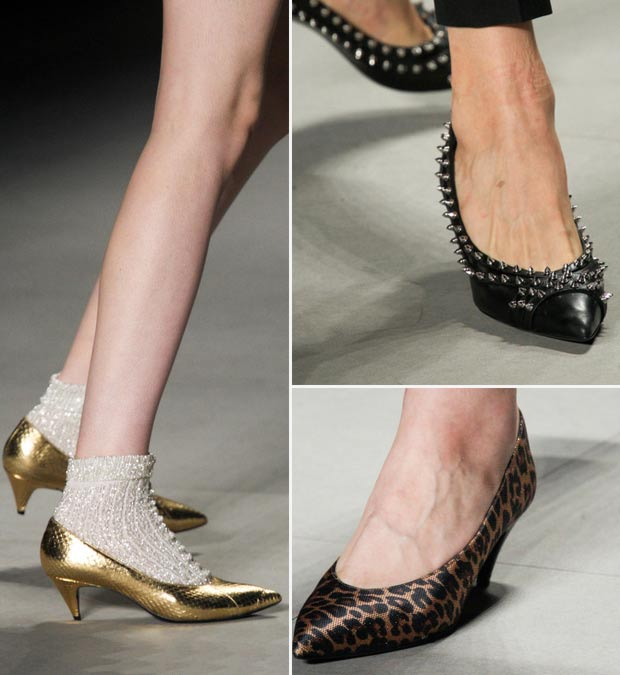 shoes Saint Laurent Spring Summer 2014