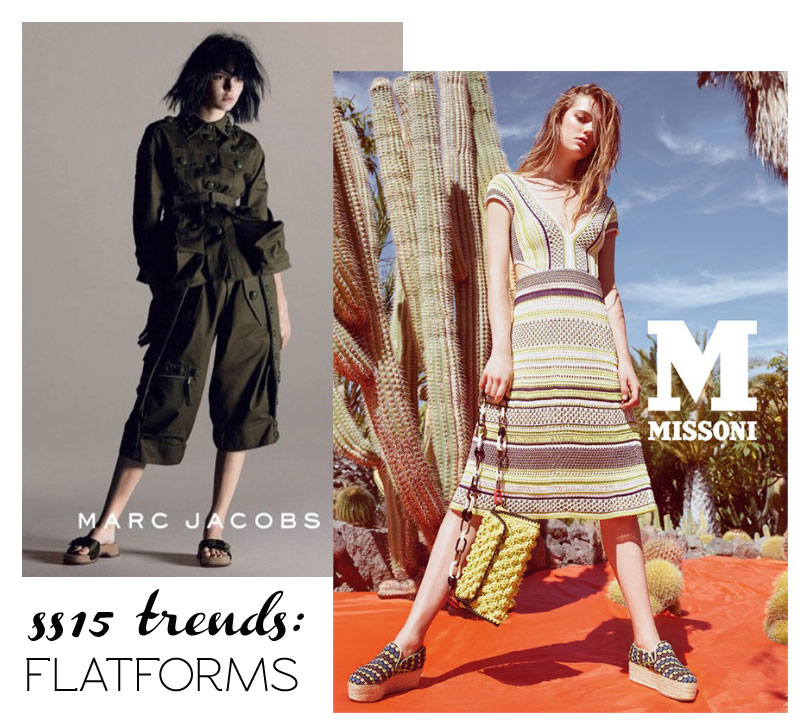 shoes trends spring summer 15 flatforms