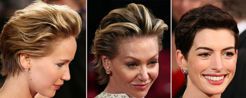 2014 Oscars Hairstyles: Glam Up Short Hair Like Charlize, Jennifer, Anne & More!