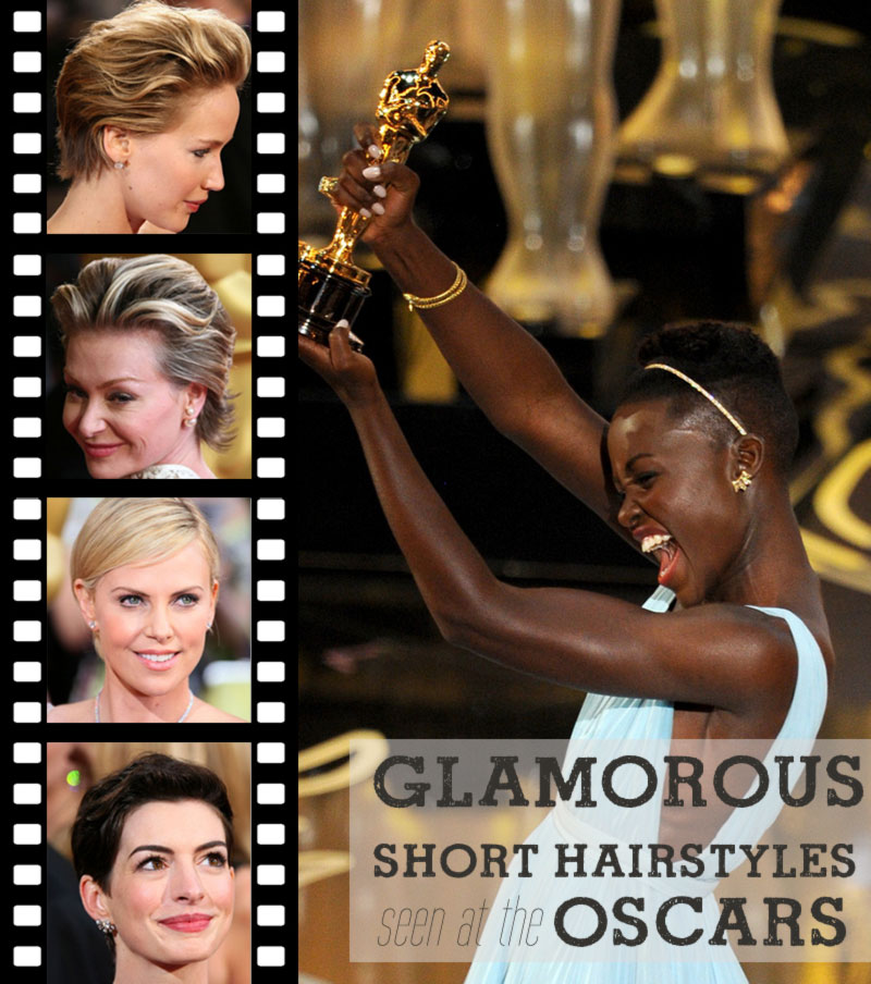 short hairstyle inspirations from the oscars