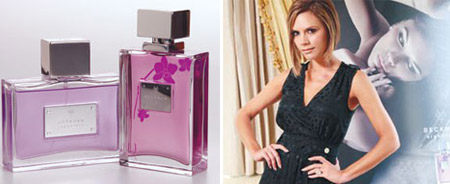 David And Victoria Beckham Signature For Her And Signature For Him Perfumes