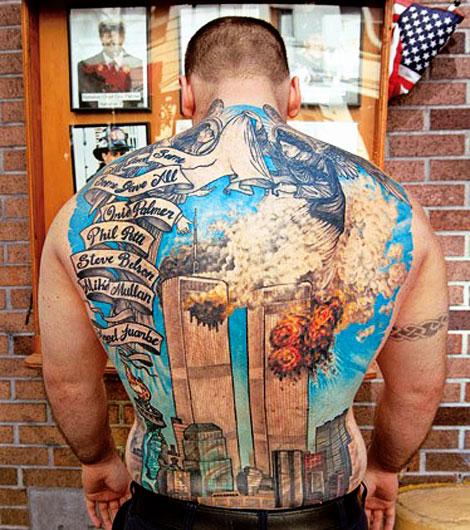 significant ink The Man with the 9 11 Tattoo