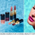 Sigrid Agren Chanel Beauty Spring Summer 2013 ad campaign