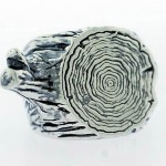 Silver Stump Ring Digby and Iona