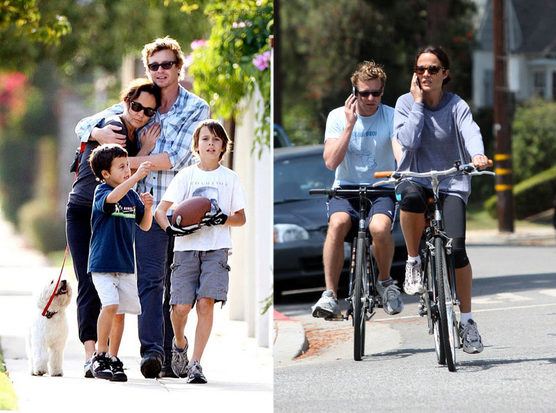 Simon Baker Family 2