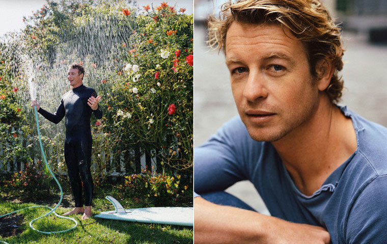 Simon Baker various