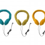 Simple crocheted headphones